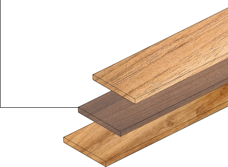 Pure kwaliteits hout